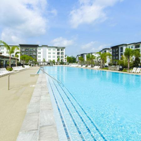 Resort Style Pool   Apartments In Conroe TX   The Towers Woodland