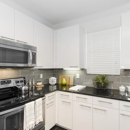 Spacious Kitchen | Apartments Conroe TX | The Towers Woodland