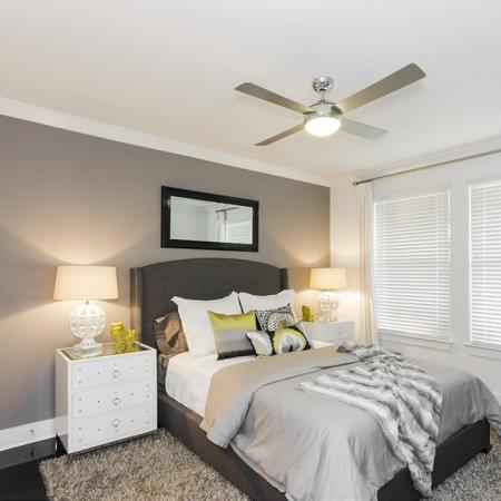Elegant Master Bedroom | Conroe TX Apartments | The Towers Woodland