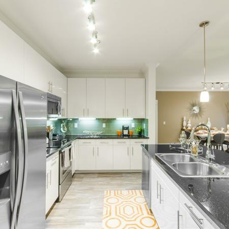 State-of-the-Art Kitchen   Apartments Conroe TX   The Towers Woodland