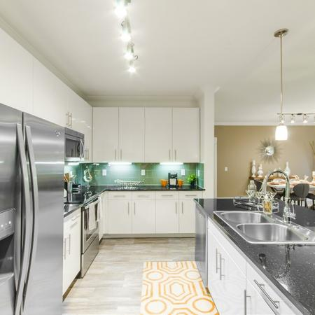 State-of-the-Art Kitchen | Apartments Conroe TX | The Towers Woodland
