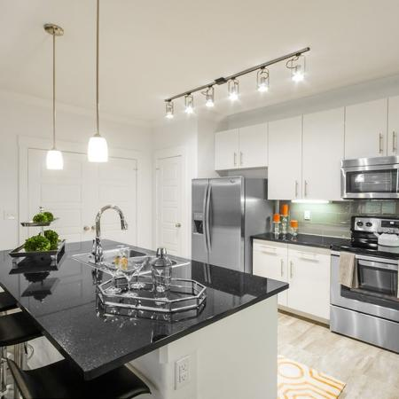 Luxurious Kitchen   Conroe Apartments   The Towers Woodland