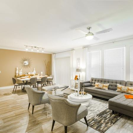 Luxurious Living Area   Apartments For Rent In Conroe TX   The Towers Woodland
