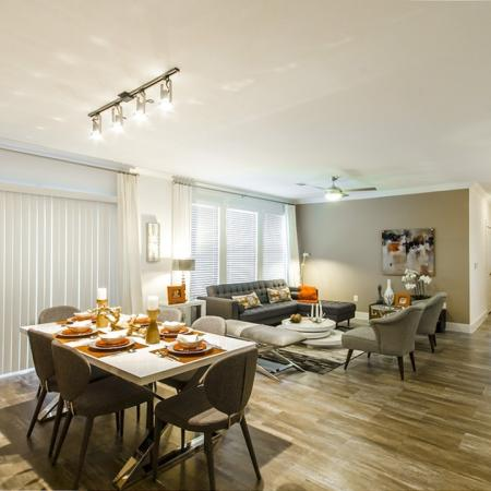 Elegant Dining Room   Apartments In Conroe Texas   The Towers Woodland