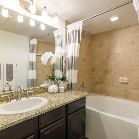 Spacious Bathroom | 2 Bedroom Apartments Austin | The Mansions at Lakeway