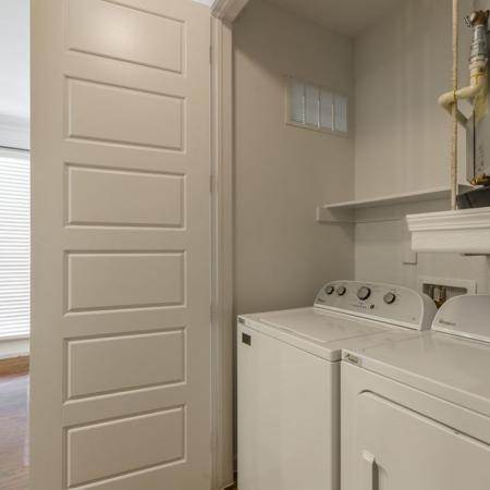In-home Laundry| Austin TX Apartments | The Mansions at Lakeway