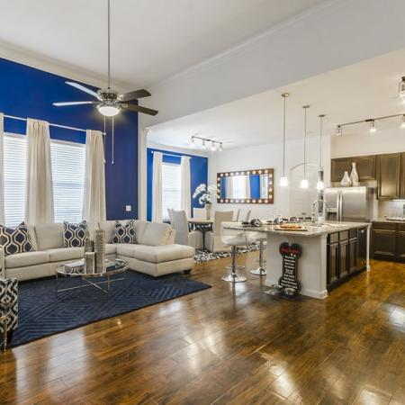 Elegant Living Room | Austin Apartments | The Mansions at Lakeway