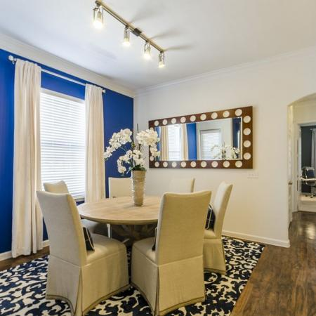Elegant Dining Room | Apartments Austin TX | The Mansions at Lakeway