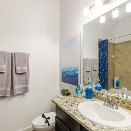 Ornate Bathroom | Luxury Apartments In Austin Texas | The Mansions at Lakeway