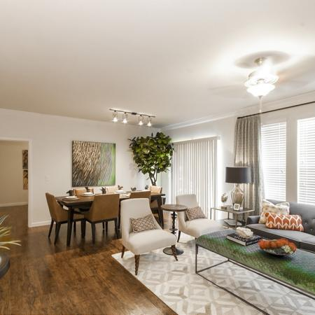Spacious Living Room | Magnolia Apartments | The Grand Estates Woodland