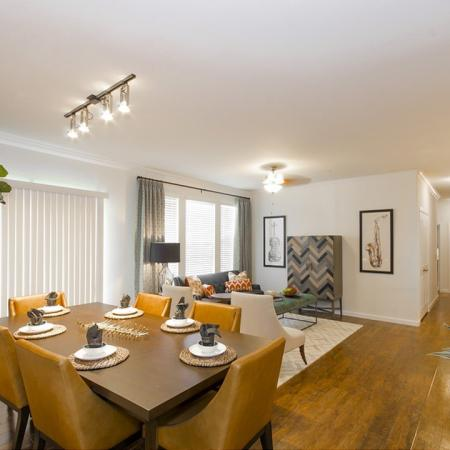 Spacious Dining Room | Magnolia TX Apartments | The Grand Estates Woodland
