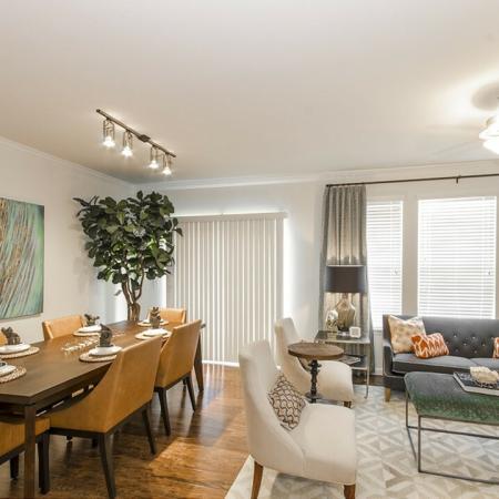 Luxurious Living Area | Magnolia TX Apartments | The Grand Estates Woodland