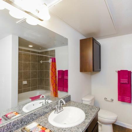 Spacious Bathroom | Apartments Near Magnolia TX | The Grand Estates Woodland