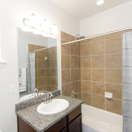 Ornate Bathroom | Magnolia Apartments | The Grand Estates Woodland