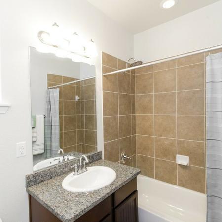 Ornate Bathroom | Magnolia Apartments | The Grand Estates Woodland