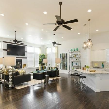 Elegant Living Room | Apartments In Magnolia TX | The Estates Woodland