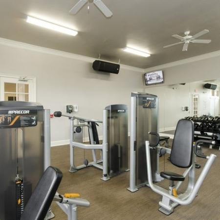 Resident Fitness Center | Apartments For Rent In Magnolia TX | The Grand Estates Woodland