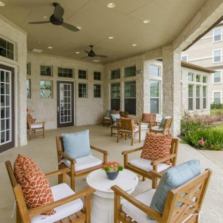 Resident Sun Deck | Apartments Near Magnolia TX | The Grand Estates Woodland