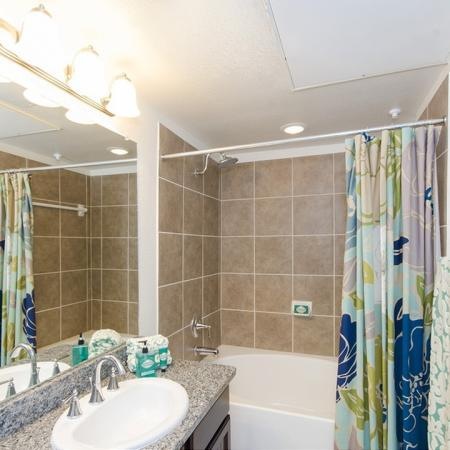 Residents in the Bathroom | Apartments In Magnolia | The Grand Estates Woodland