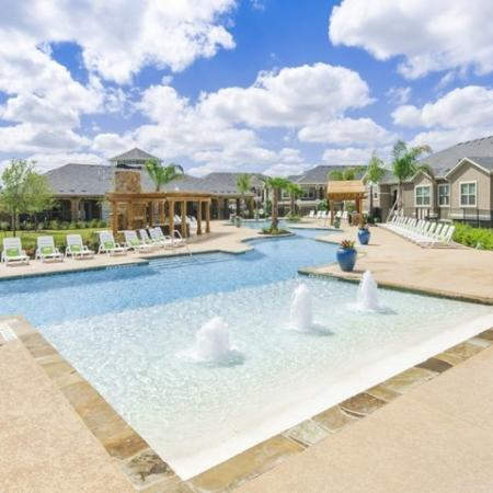 Resort Style Pool | Luxury Apartments In San Antonio | The Mansions at Briggs Ranch