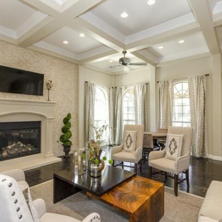 Spacious Community Club House | San Antonio Apt | The Mansions at Briggs Ranch