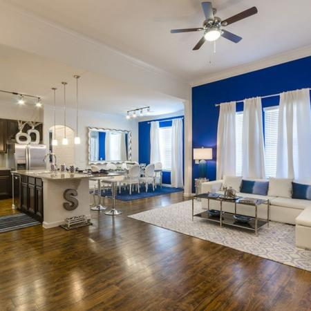 Spacious Living Room | Apartments In Little Elm TX | The Mansions 3Eighty