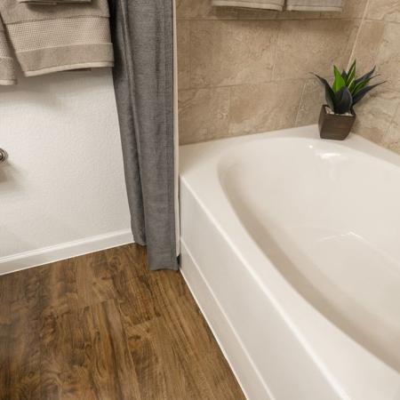 Elegant Bathroom | Apartments In Little Elm TX | The Mansions 3Eighty