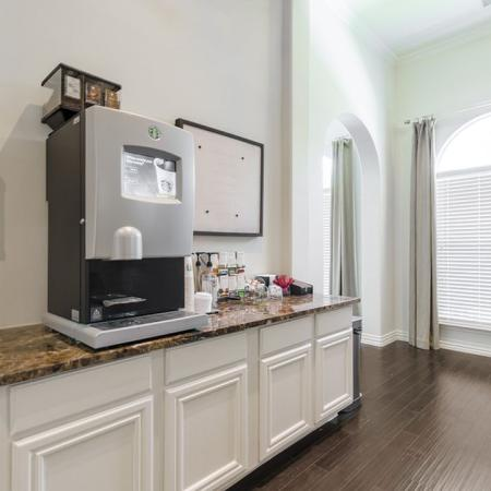 Resident Coffee Bar | Luxury Apartments In Austin Texas | The Mansions at Lakeway