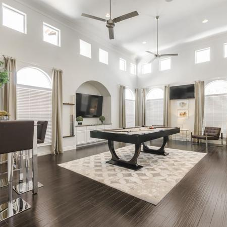Resident Game Room | Luxury Apartments In Austin Texas | The Mansions at Lakeway
