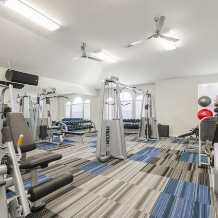 Resident Fitness Center | Apartment For Rent In Austin TX | The Mansions at Lakeway