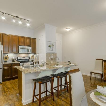 Modern Kitchen | Apartments In Wylie Texas | The Mansions at Wylie01