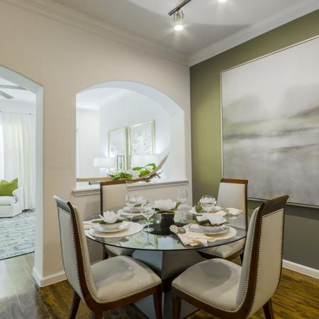 Elegant Dining Room | Wylie Apartments | The Mansions at Wylie01