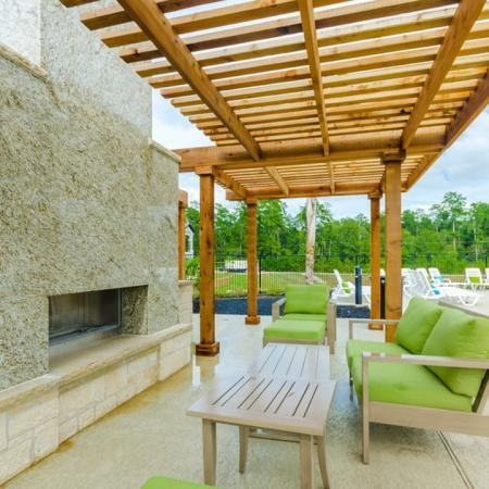 Covered Pavilion | Conroe Apts | The Mansions Woodland