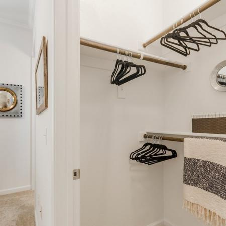 Spacious Closet | Apartments In Conroe TX | The Grand Estates in the Forest