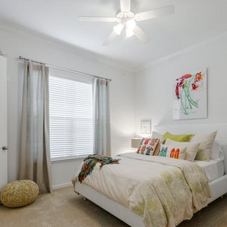 Residents in the Bedroom | Conroe Apartments | The Grand Estates in the Forest