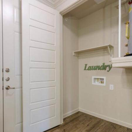 In-apartment Laundry| Mckinney Apartments | The Mansions McKinney