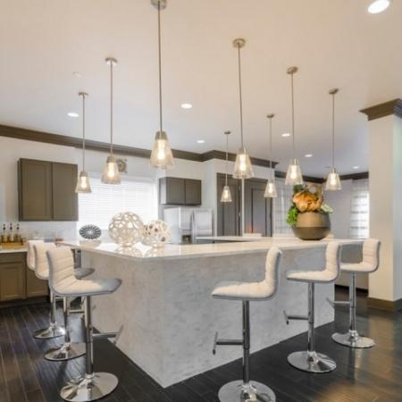 Elegant Resident Club House | Luxury McKinney Apartments | The Mansions McKinney