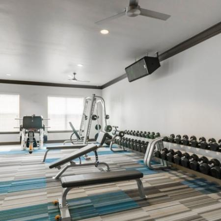 Community Fitness Center | Luxury Apartments in McKinney TX | The Mansions McKinney
