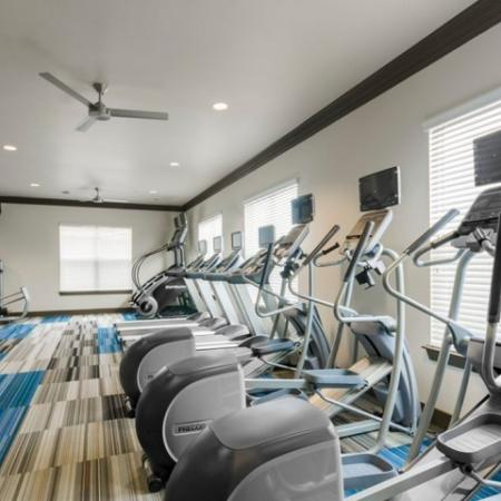 On-site Fitness Center | Apartments McKinney | The Mansions McKinney