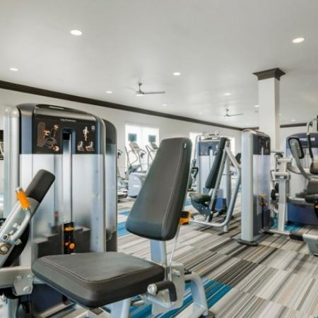 24-hour Fitness Center | Luxury Apartments McKinney | The Mansions McKinney