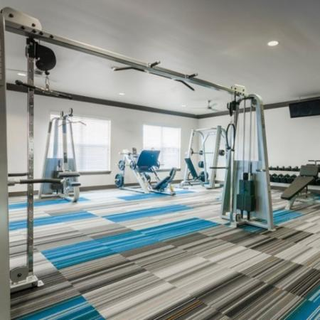 Cutting Edge Fitness Center | Apartment For Rent In McKinney TX | The Mansions McKinney 1