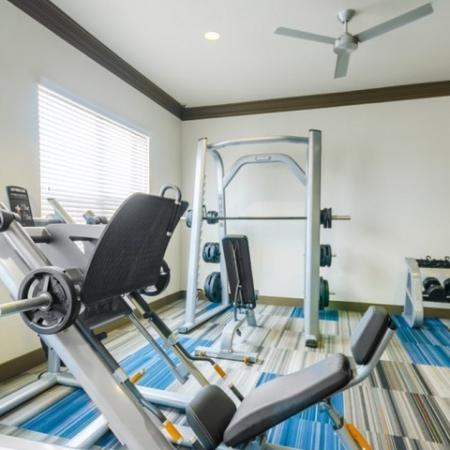Resident Fitness Center | Mckinney Apartments | The Mansions McKinney 1