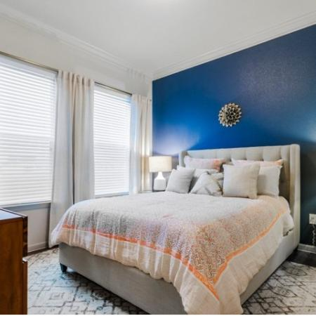 Elegant Bedroom | McKinney Apartments | The Mansions McKinney 2