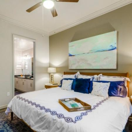 Spacious Bedroom | Luxury McKinney Apartments | The Mansions McKinney 1