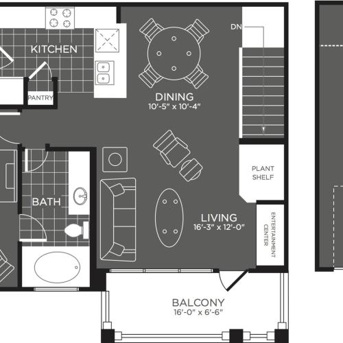 Floor Plan 3 | Apartments San Antonio | The Mansions at Briggs Ranch