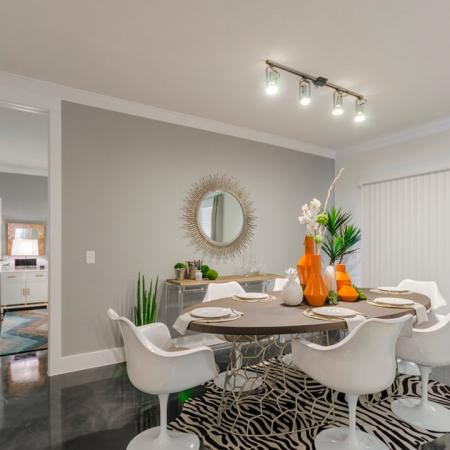 Luxurious Dining Room | Apartments Seabrook TX | The Towers of Seabrook