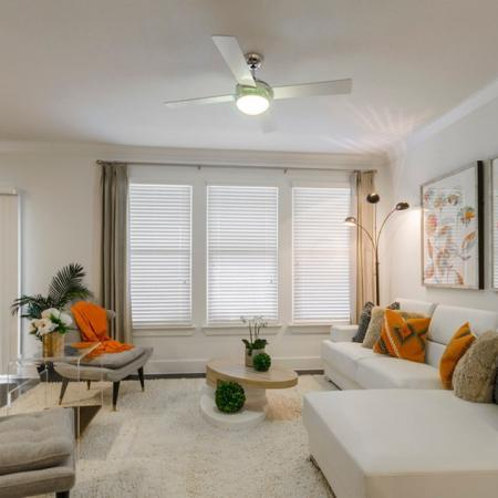 Spacious Living Room | Apartments in Seabrook TX | The Towers of Seabrook1