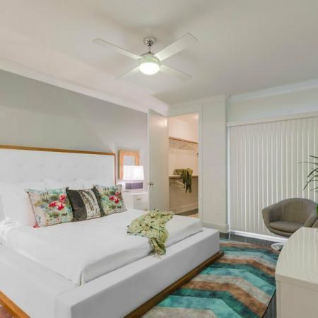 Elegant Bedroom | Apartments Seabrook TX | The Towers of Seabrook