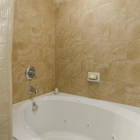 Soaking Tub | Apartments In Little Elm TX | The Mansions 3Eighty