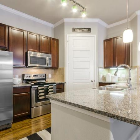 Elegant Kitchen | Apartments In Little Elm TX | The Estates 3Eighty